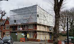 Do you need Temporary Roof Scaffolding in North London ?